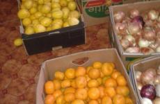 Zöldség-gyümölcs adomány a Tápióbicskei Roma Nemzetiségi Önkormányzat részére