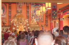 Látogatóban buddhista barátainknál